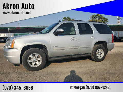 2013 GMC Yukon for sale at Akron Auto - Fort Morgan in Fort Morgan CO