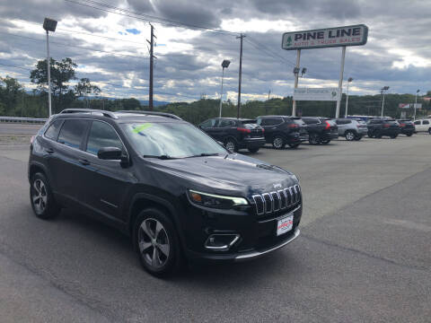 2019 Jeep Cherokee for sale at Pine Line Auto in Olyphant PA