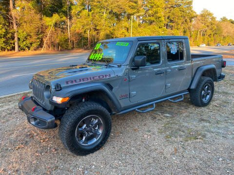 2020 Jeep Gladiator for sale at TOP OF THE LINE AUTO SALES in Fayetteville NC