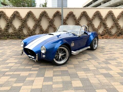 1965 Shelby Cobra for sale at ROGERS MOTORCARS in Houston TX