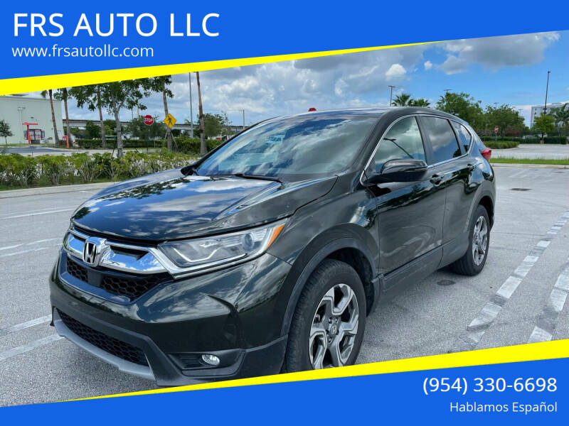2018 Honda CR-V for sale at FRS AUTO LLC in West Palm Beach FL