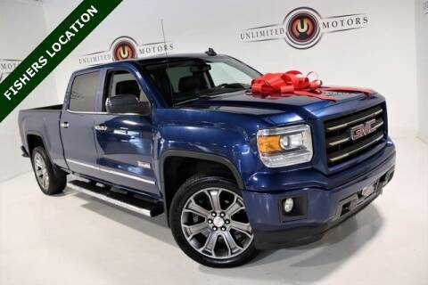 2015 GMC Sierra 1500 for sale at Unlimited Motors in Fishers IN