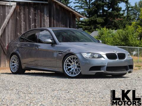 2009 BMW M3 for sale at LKL Motors in Puyallup WA