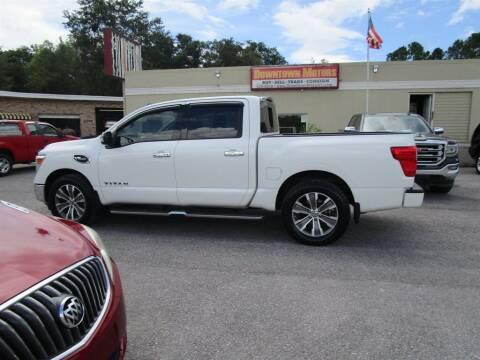 2017 Nissan Titan for sale at Downtown Motors in Milton FL
