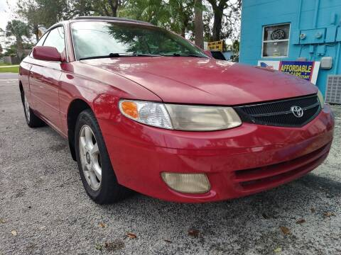 2001 Toyota Camry Solara for sale at AFFORDABLE AUTO SALES OF STUART in Stuart FL