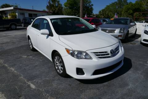 2013 Toyota Corolla for sale at J Linn Motors in Clearwater FL
