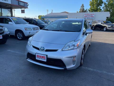 2012 Toyota Prius for sale at Adams Auto Sales in Sacramento CA