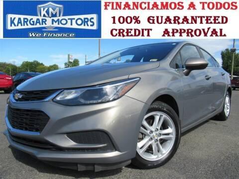 2017 Chevrolet Cruze for sale at Kargar Motors of Manassas in Manassas VA