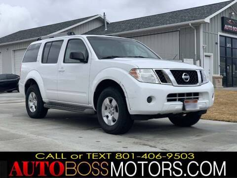 2012 Nissan Pathfinder for sale at Auto Boss in Woodscross UT