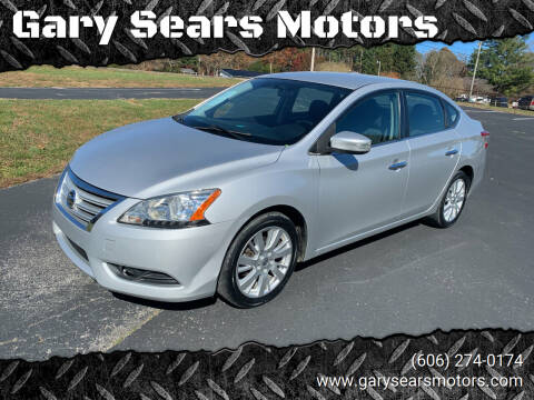 2013 Nissan Sentra for sale at Gary Sears Motors in Somerset KY