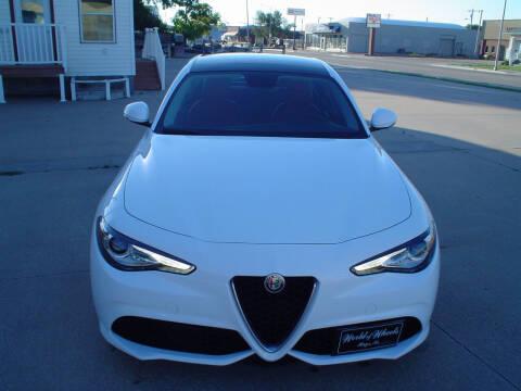 2017 Alfa Romeo Giulia for sale at World of Wheels Autoplex in Hays KS