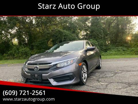 2017 Honda Civic for sale at Starz Auto Group in Delran NJ