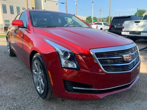 2016 Cadillac ATS for sale at LLANOS AUTO SALES LLC in Dallas TX