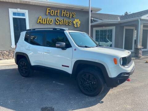 2018 Jeep Renegade for sale at Fort Hays Auto Sales in Hays KS
