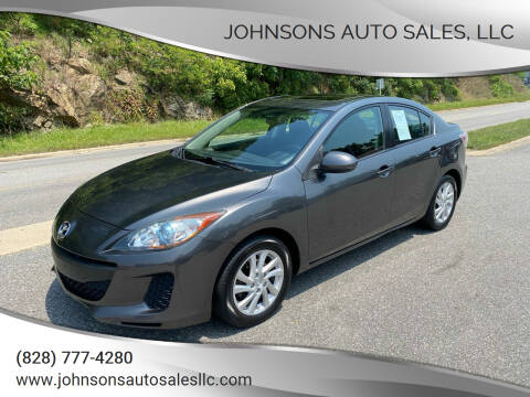 2012 Mazda MAZDA3 for sale at Johnsons Auto Sales, LLC in Marshall NC