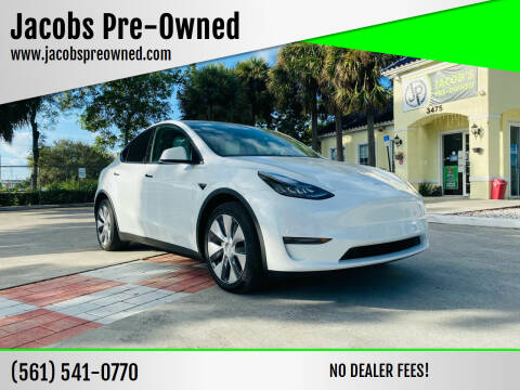 2020 Tesla Model Y for sale at Jacobs Pre-Owned in Lake Worth FL