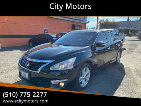 2013 Nissan Altima for sale at City Motors in Hayward CA
