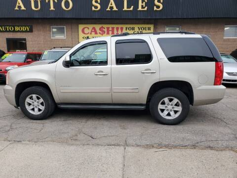 2014 GMC Yukon for sale at Beacon Auto Sales Inc in Worcester MA