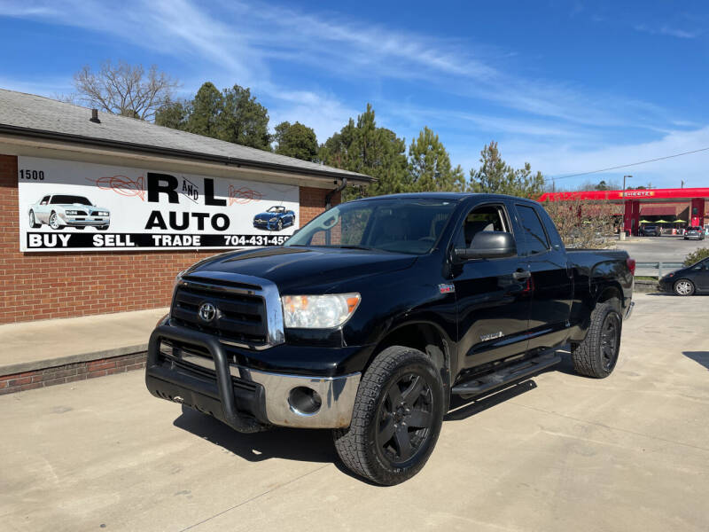 2010 Toyota Tundra for sale at R & L Autos in Salisbury NC
