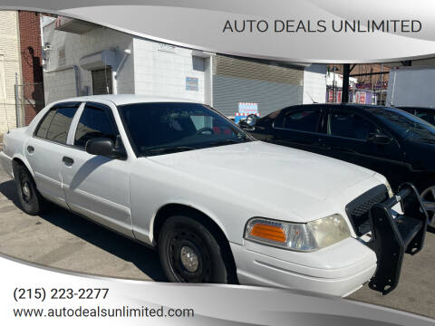 2005 Ford Crown Victoria for sale at AUTO DEALS UNLIMITED in Philadelphia PA