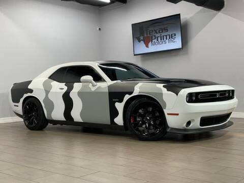2015 Dodge Challenger for sale at Texas Prime Motors in Houston TX
