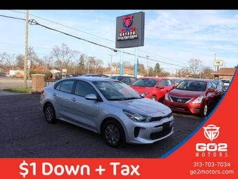 2020 Kia Rio for sale at Go2Motors in Redford MI