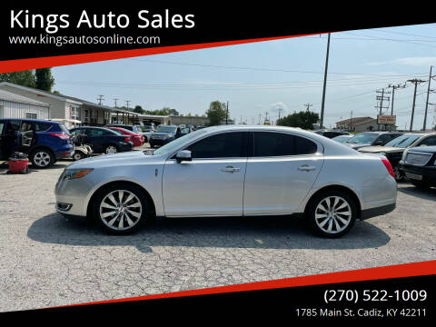 2013 Lincoln MKS for sale at Kings Auto Sales in Cadiz KY