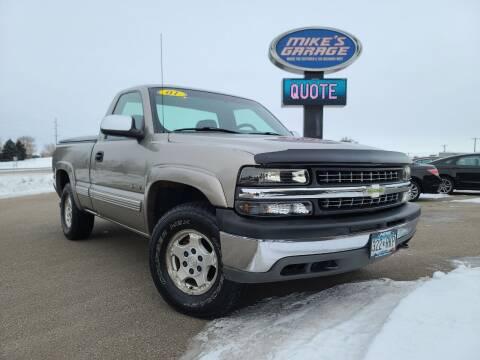 2001 Chevrolet Silverado 1500 for sale at Monkey Motors in Faribault MN