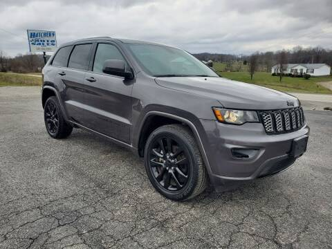 2017 Jeep Grand Cherokee for sale at Hatcher's Auto Sales, LLC in Campbellsville KY