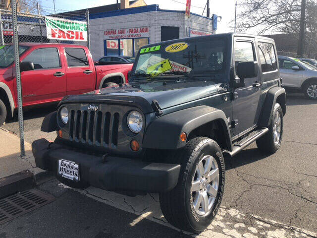 2007 Jeep Wrangler for sale at DEALS ON WHEELS in Newark NJ