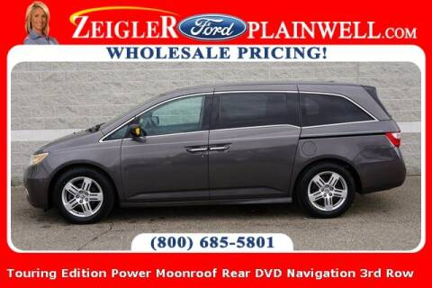 2013 Honda Odyssey for sale at Zeigler Ford of Plainwell- michael davis in Plainwell MI