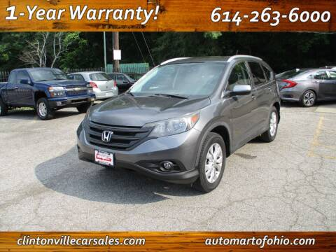 2013 Honda CR-V for sale at Clintonville Car Sales - AutoMart of Ohio in Columbus OH