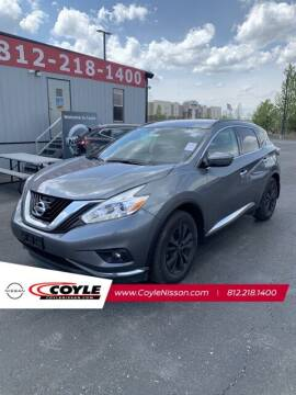 2017 Nissan Murano for sale at COYLE GM - COYLE NISSAN - New Inventory in Clarksville IN