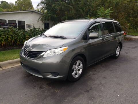 2011 Toyota Sienna for sale at TR MOTORS in Gastonia NC