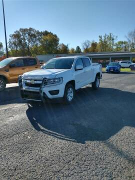 2018 Chevrolet Colorado for sale at McCully's Automotive - Trucks & SUV's in Benton KY