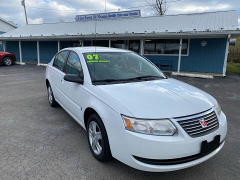 2007 Saturn Ion for sale at HACKETT & SONS LLC in Nelson PA