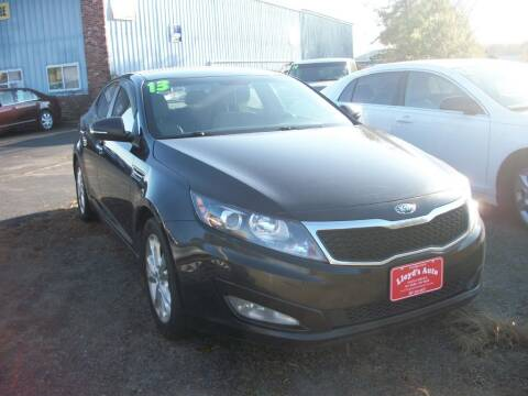 2013 Kia Optima for sale at Lloyds Auto Sales & SVC in Sanford ME