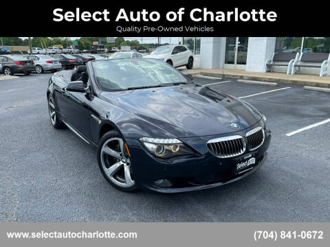 2010 BMW 6 Series for sale at Select Auto of Charlotte in Matthews NC