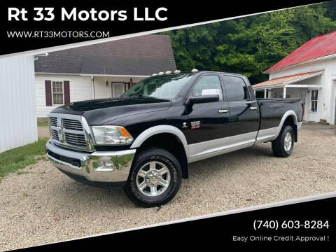 2012 RAM Ram Pickup 3500 for sale at Rt 33 Motors LLC in Rockbridge OH