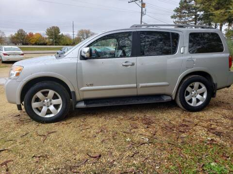 2008 Nissan Armada for sale at Northwoods Auto & Truck Sales in Machesney Park IL