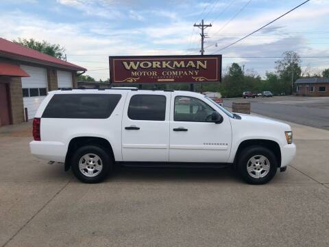 2008 Chevrolet Suburban for sale at Workman Motor Company in Murray KY