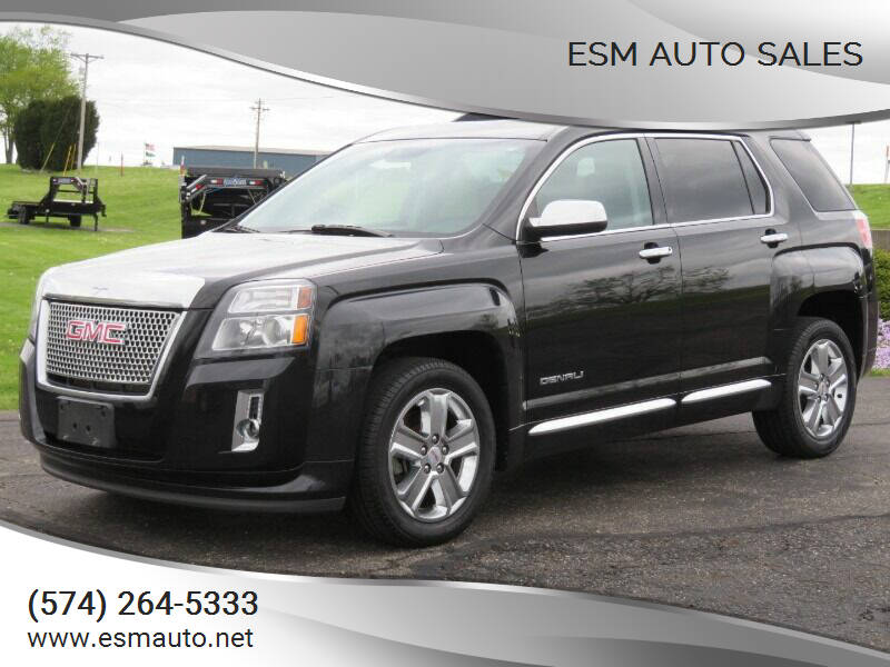 2013 GMC Terrain for sale at ESM Auto Sales in Elkhart IN