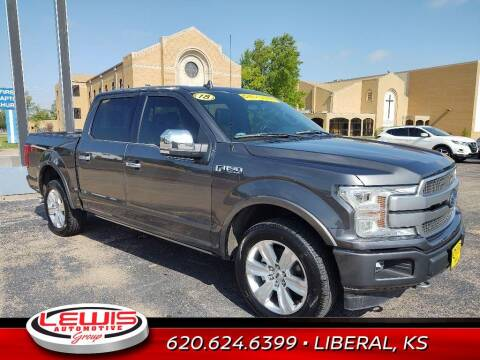 2018 Ford F-150 for sale at Lewis Chevrolet Buick of Liberal in Liberal KS