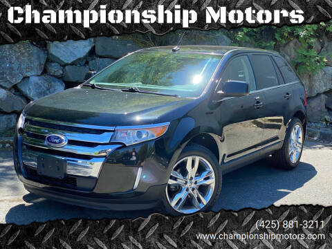 2011 Ford Edge for sale at Championship Motors in Redmond WA