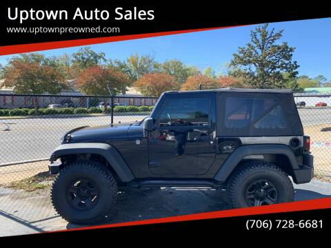 2011 Jeep Wrangler for sale at Uptown Auto Sales in Rome GA