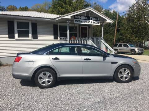 2013 Ford Taurus for sale at Wheel Tech Motor Vehicle Sales in Maylene AL