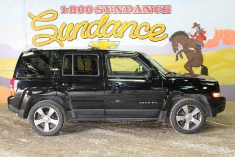 2017 Jeep Patriot for sale at Sundance Chevrolet in Grand Ledge MI