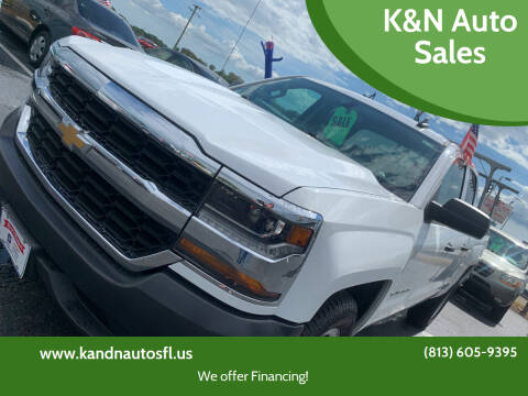 2018 Chevrolet Silverado 1500 for sale at K&N Auto Sales in Tampa FL