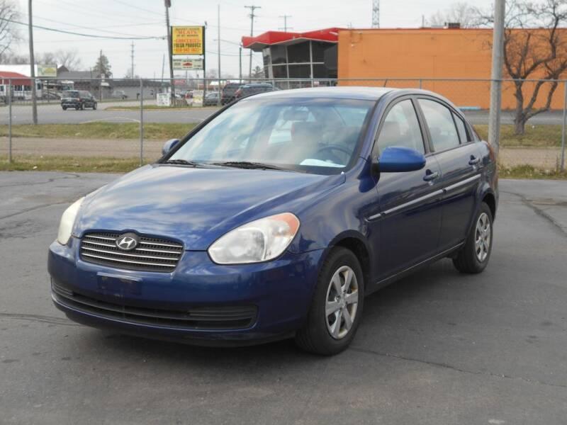 2008 Hyundai Accent for sale at MT MORRIS AUTO SALES INC in Mount Morris MI