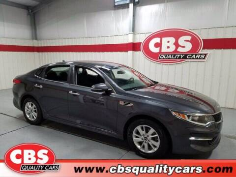 2017 Kia Optima for sale at CBS Quality Cars in Durham NC